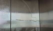 엘리베이터 보호필름 시트지 제거